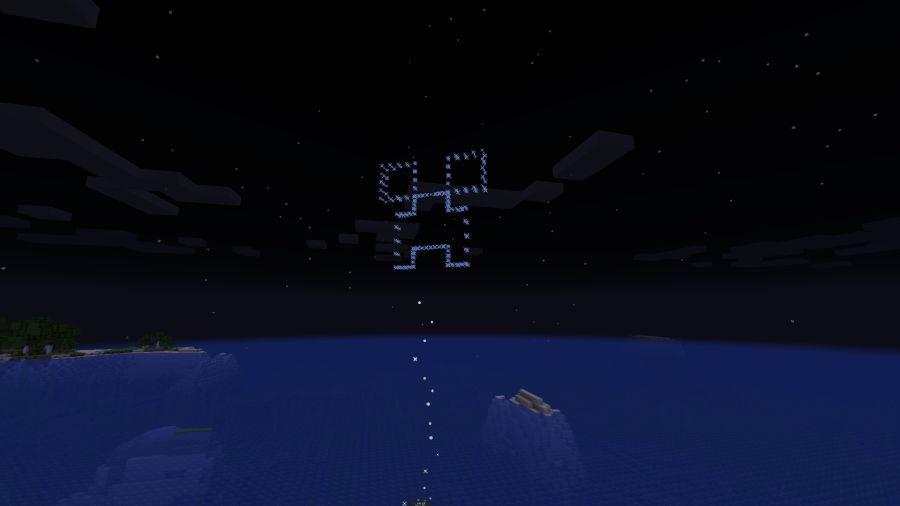 tak wyglądają w minecraft fajerwerki w kształcie creepera