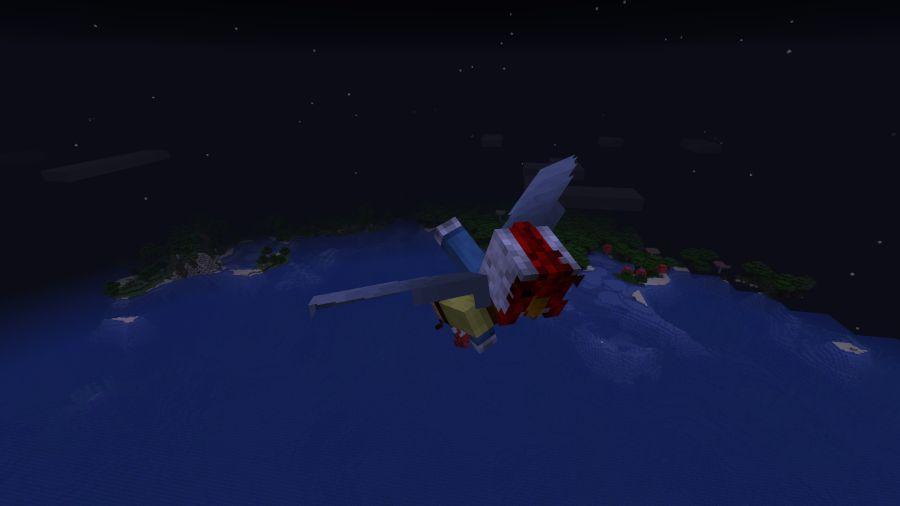 latanie w minecraft
