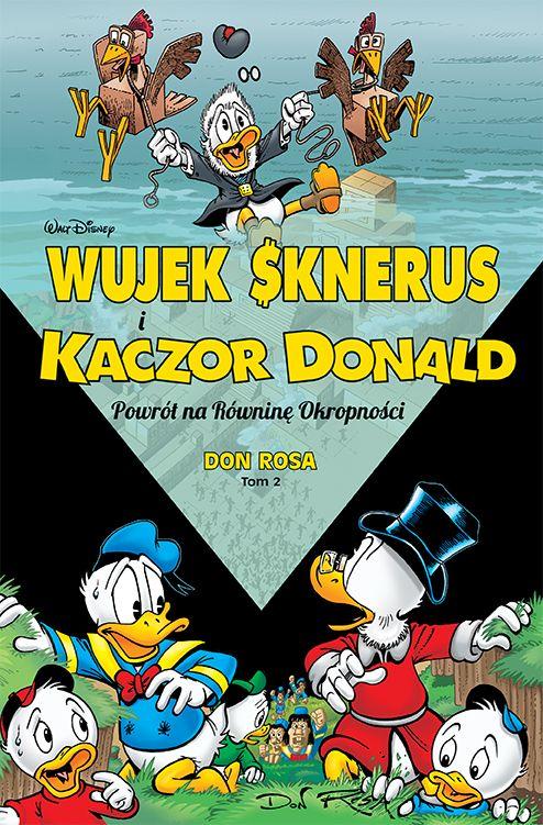 najlepsze komiksy dla dzieci - Kaczor Donald i Wujek Sknerus