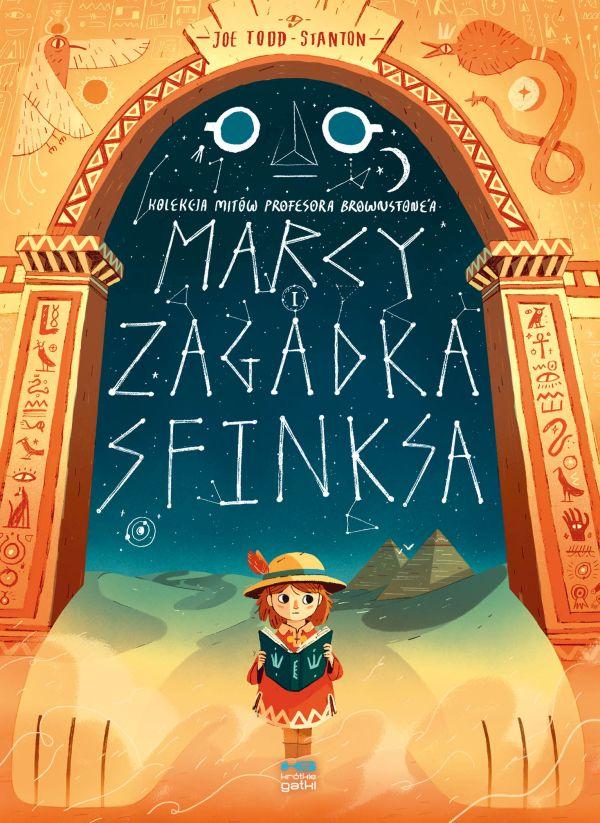 najlepsze komiksy dla dzieci - Marcy i Zagadka Sfinksa