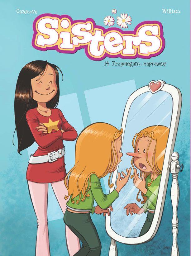 najlepsze komiksy dla dzieci - Sisters. Przysięgam, naprawdę!
