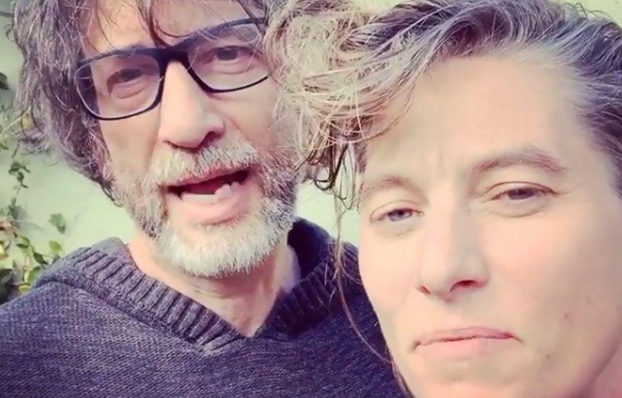 Neil Gaiman ofiarą hakera? Tak tłumaczy atak na Amandę Palmer