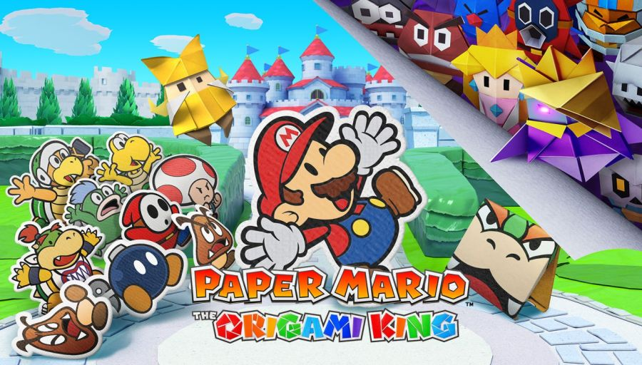 premiera The Paper Mario - Origami King