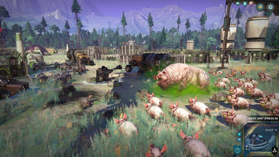 jednym z dodatków do Age of Wonders: Planetfall jest Invasions
