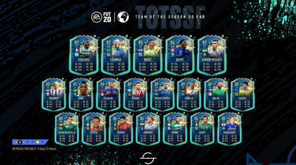 drużyna reszty świata w TOTS w trybie FUT w FIFA 20