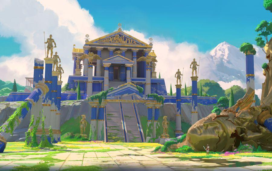 grafika w Gods & Monsters będzie bardzo bajeczna