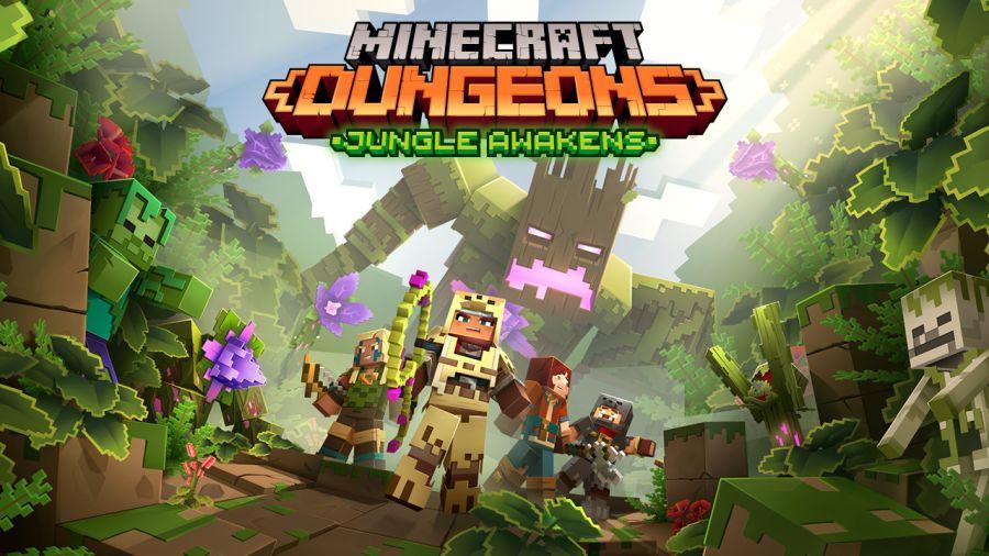 już w lipcu premiera Minecraft Dungeons: Jungle Awakens