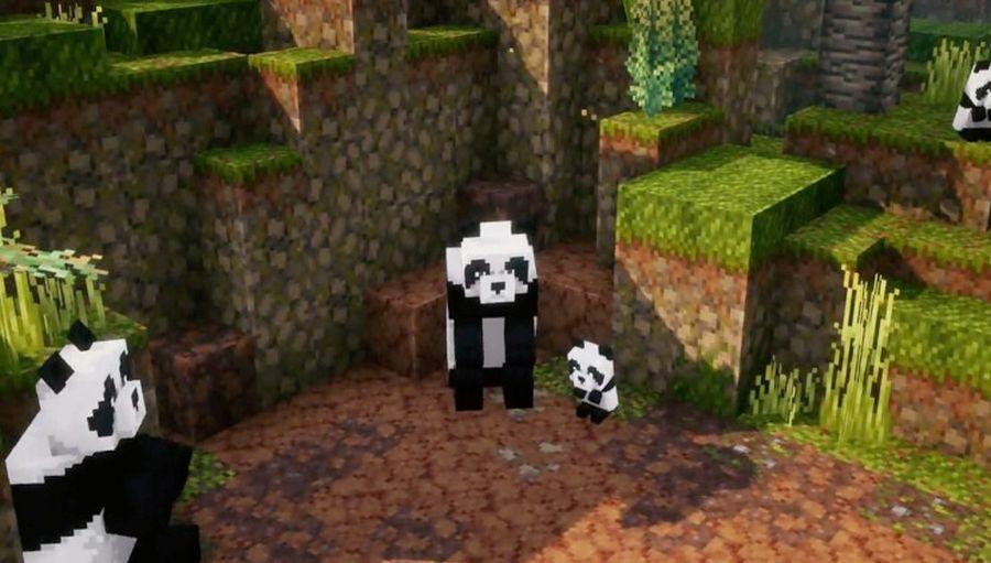 w Minecraft Dungeons: Jungle Awakens pojawią się pandy!