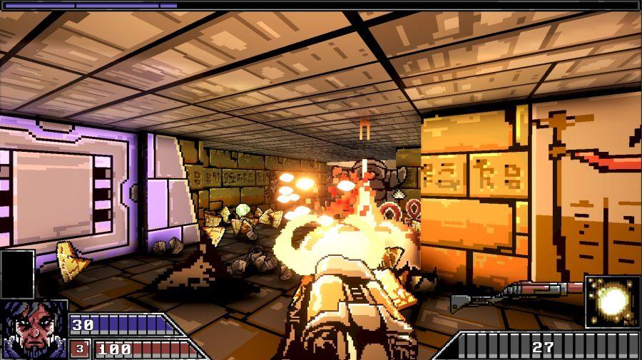 gameplay Project Warlock nastawiony jest na rozwałkę