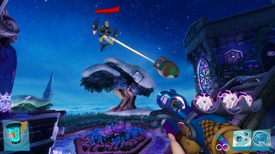 gameplay Rocket Arena jest bardzo dynamiczny