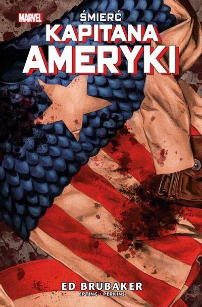 okładka komiksu Śmierć kapitana Ameryki