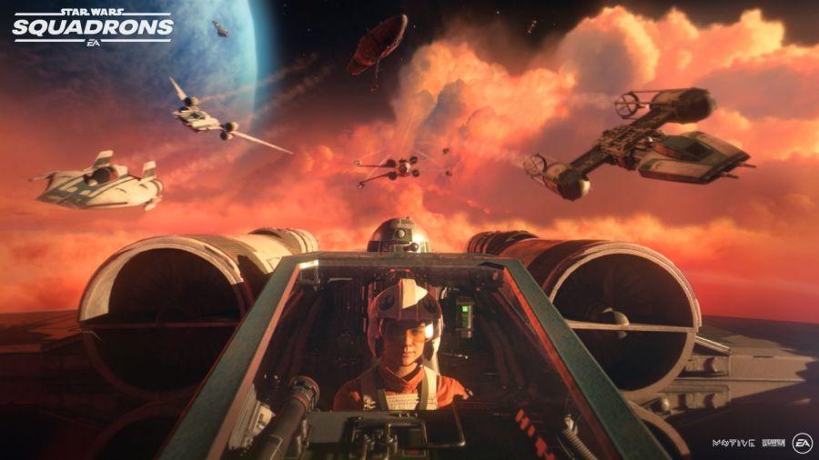 Zobacz, jakie statki kosmiczne i myśliwce ujrzymy w Star Wars: Squadrons.