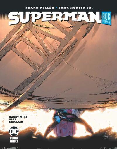 okładka komiksu Superman. Rok pierwszy