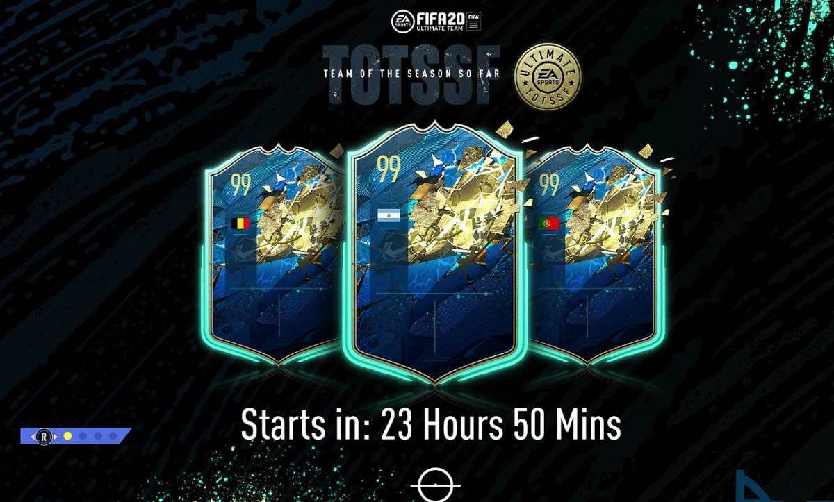 skład Ultimate w TOTS z FIFA 20