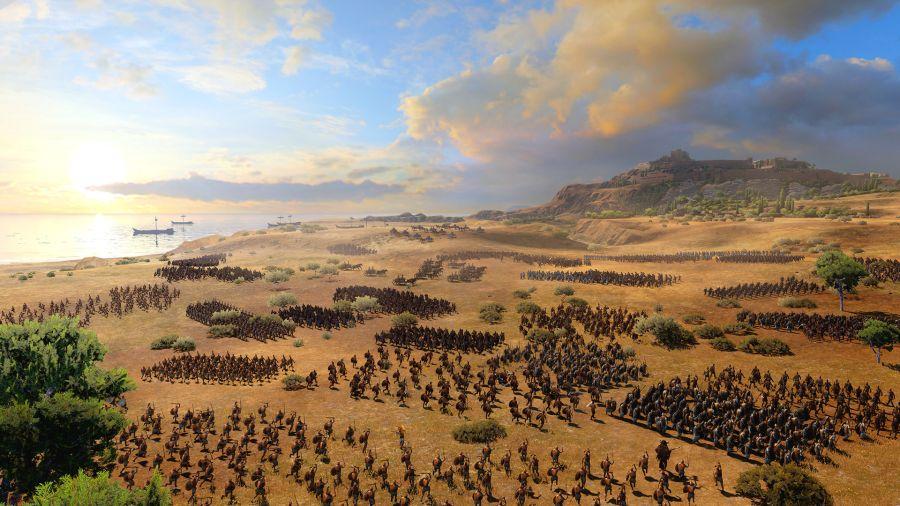 Total War Saga: Troy to spin-off popularnej serii RTS-ów.