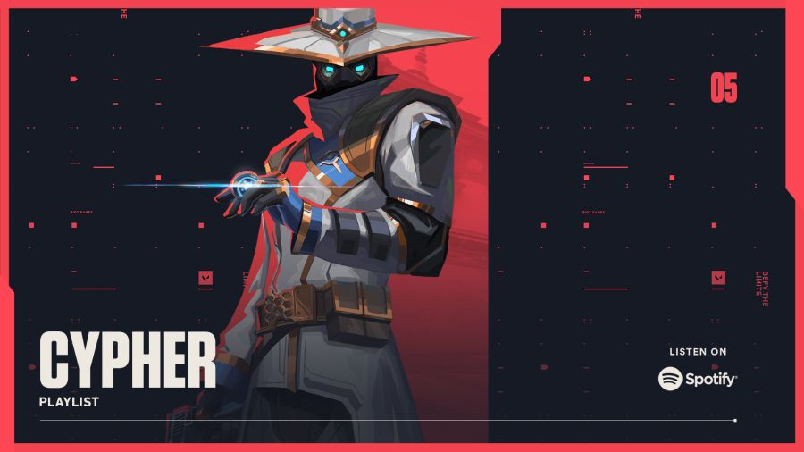 agenci Valorant - Cypher