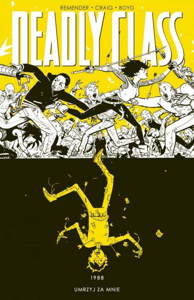 okładka 4. tomu komiksu Deadly Class