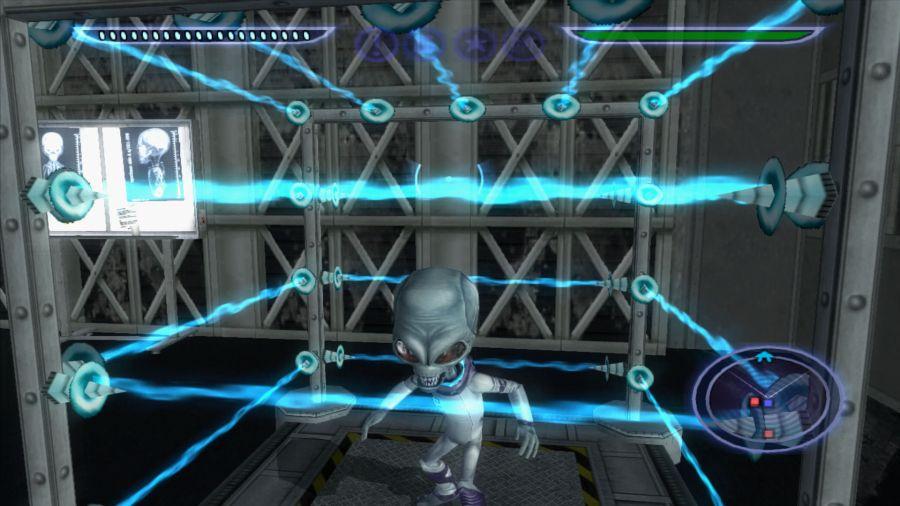gameplay Destroy All Humans polega na niszczeniu cywilizacji