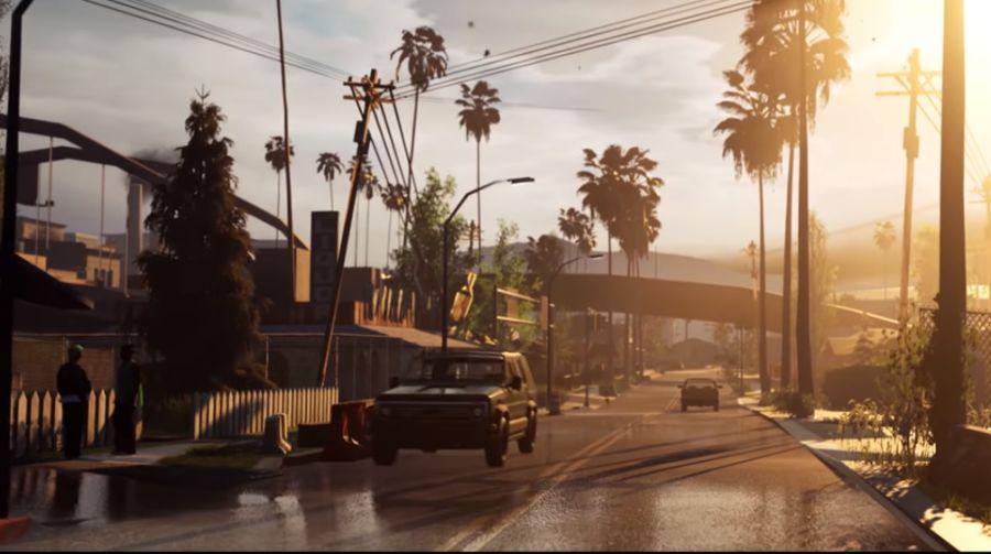 Fanowski remake GTA: San Andreas jest naprawdę piękny!