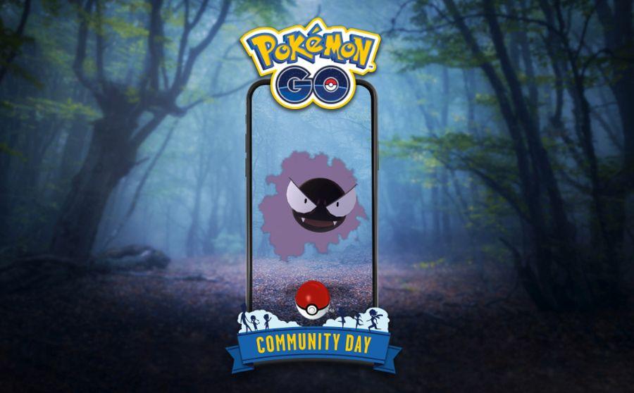 Gastly Community Day lipiec 2020