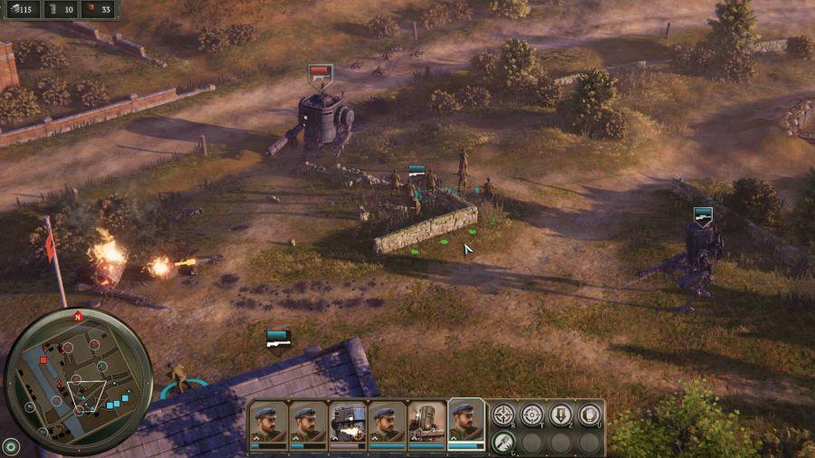 Pod względem gameplayu Iron Harvest to typowy RTS.