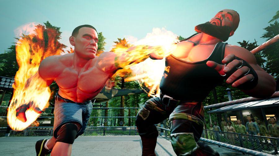 Premiera WWE 2K: Battlegrounds już we wrześniu.