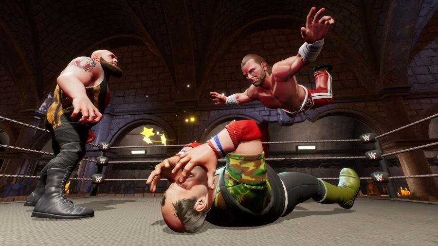 WWE 2K Battlegrounds to spin-off serii 2K Sports.
