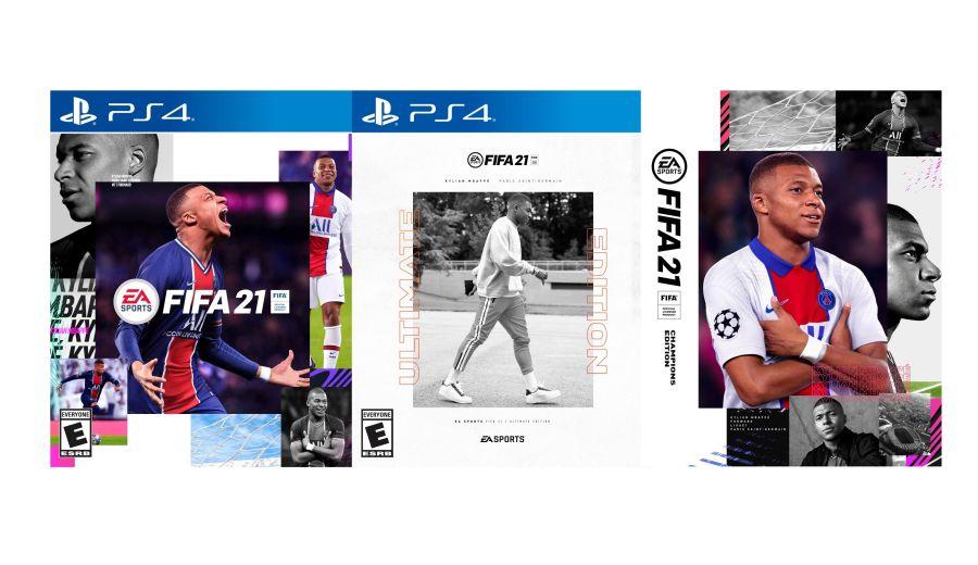 Okładka FIFA 21 przedstawia Kyliana Mbappe.