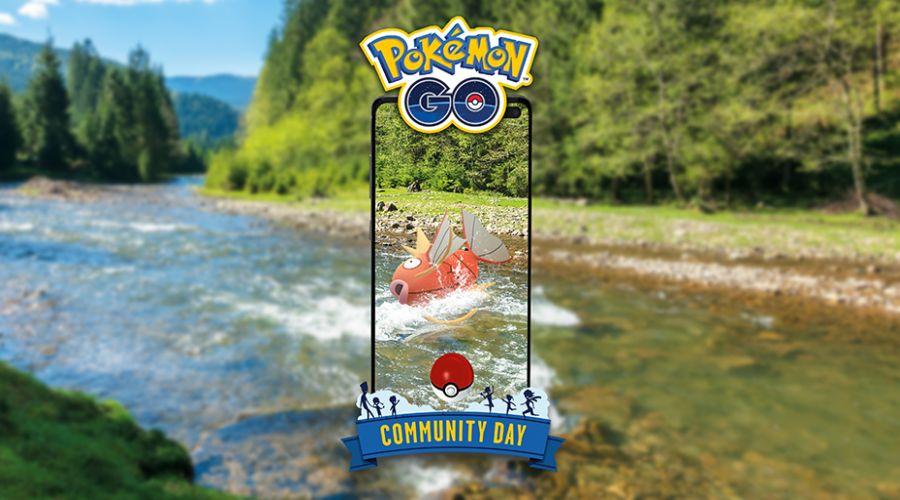 W trakcie Community Day na sierpień 2020 do złapania będzie Magikarp!