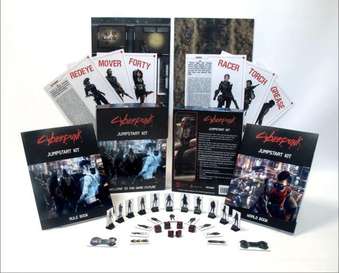 Cyberpunk RED. Jumspart Kit to namiastka podręcznika do gry.