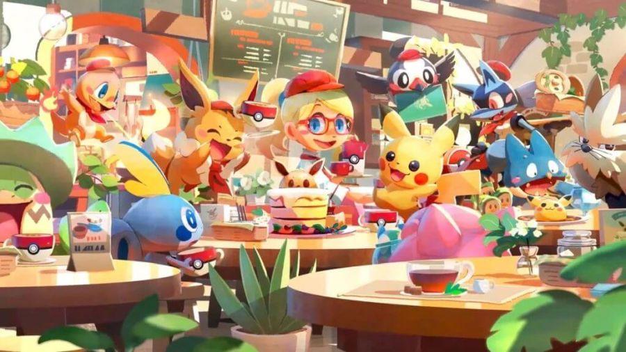 Pokemon Cafe Mix to darmowa gra na Switcha i smartfony.