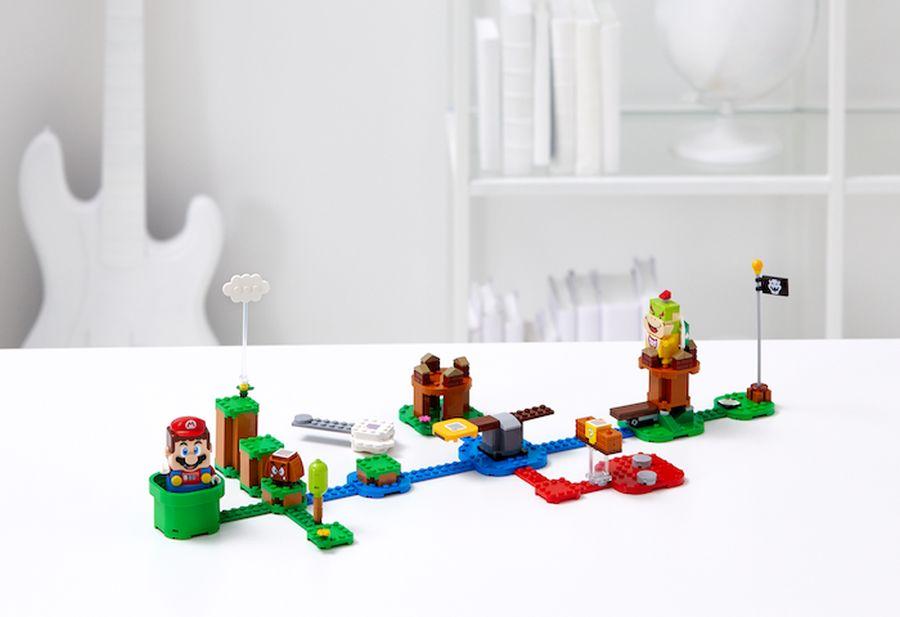 Dzięki aplikacji LEGO Super Mario to zabawka mocno interaktywna.