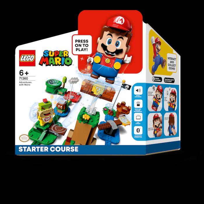 Zestaw startowy LEGO Super Mario.
