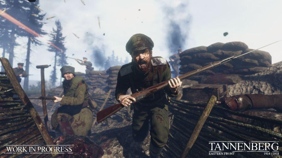 Tannenberg rozgrywa się w czasie I wojny światowej.