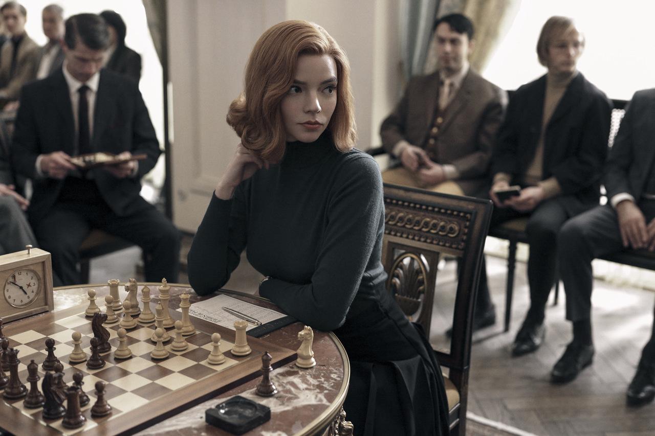 Gambit królowej. Premiera w Netflix w październiku
