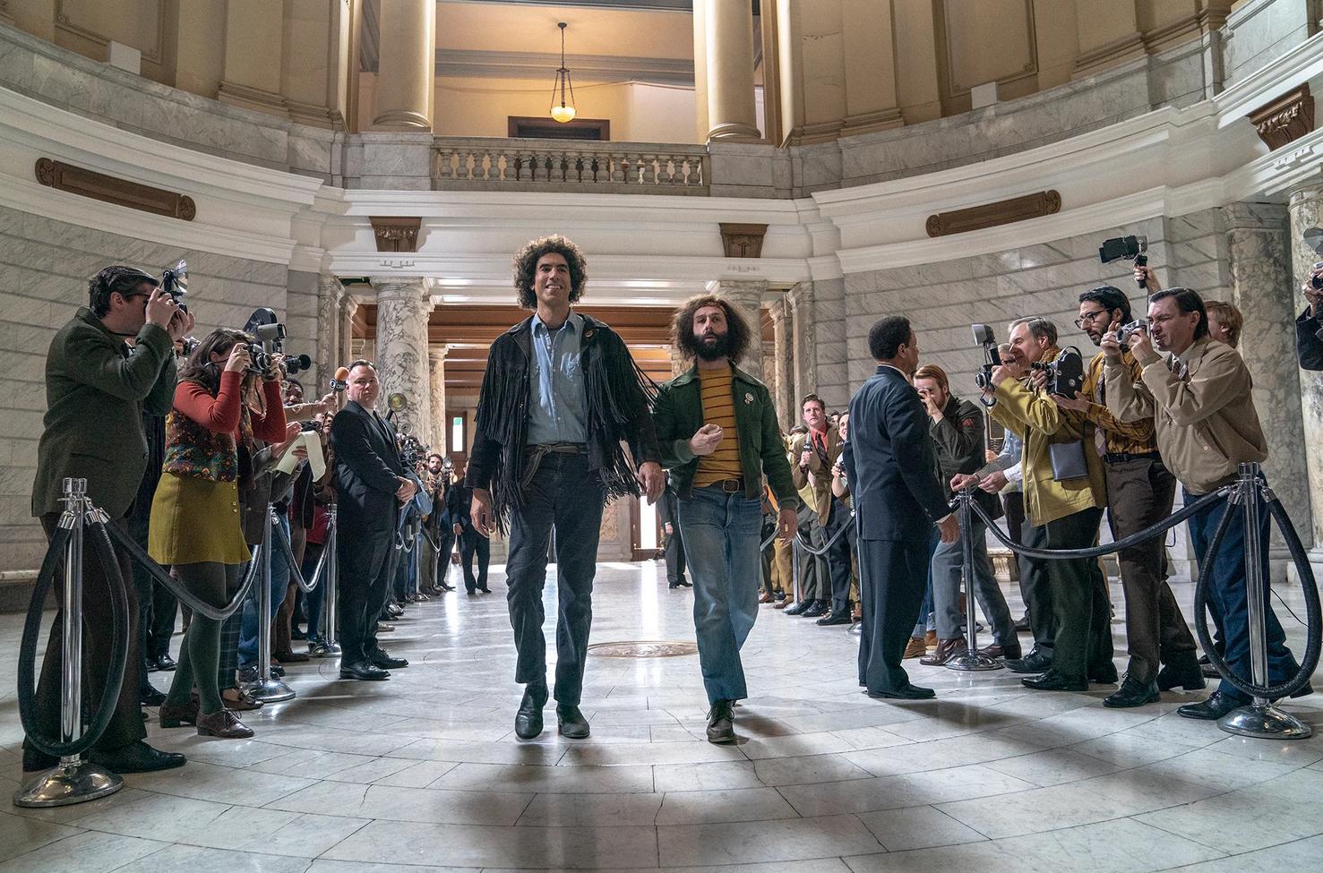 Proces Siódemki z Chicago w październiku w Netflix