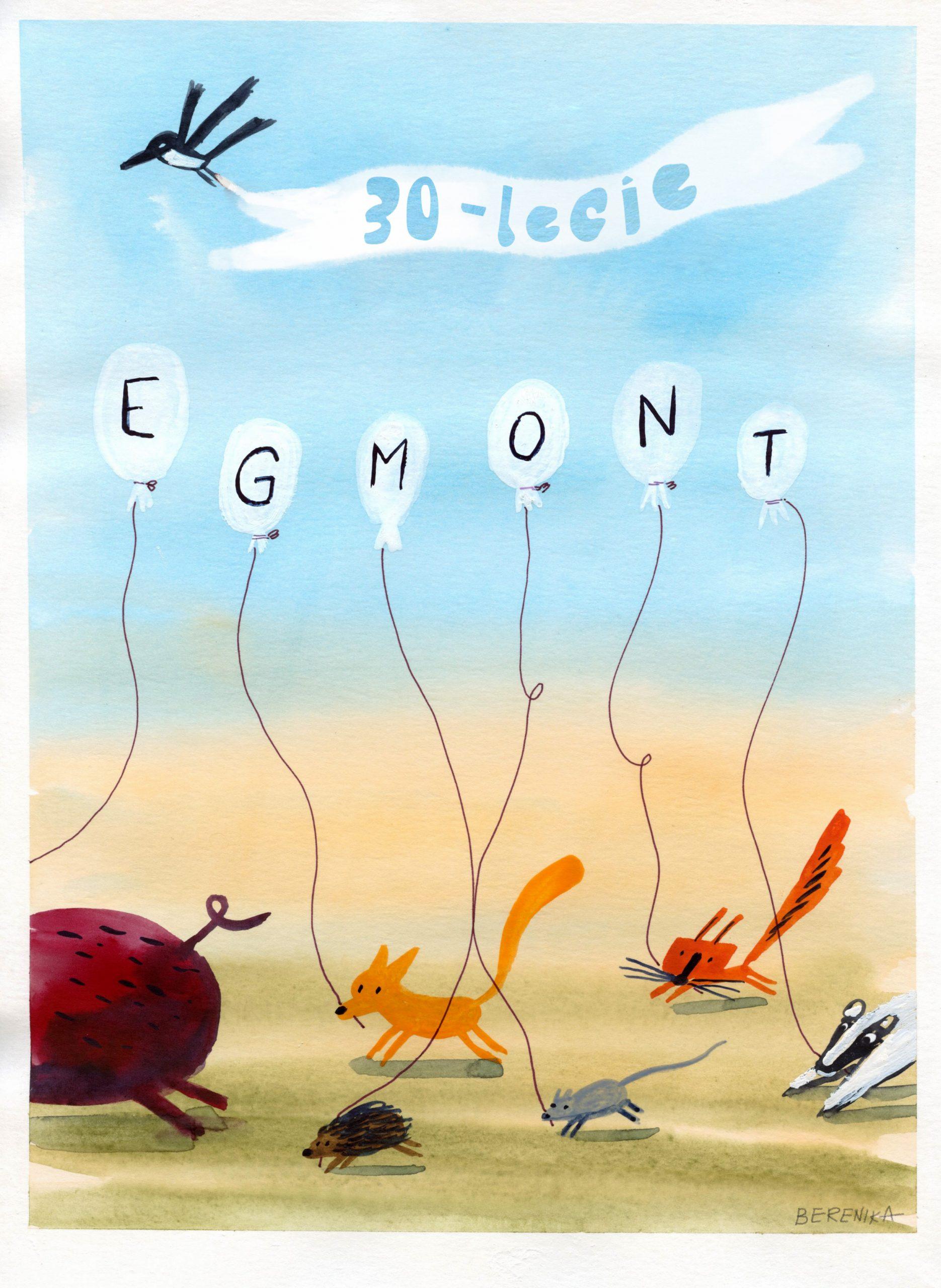 Trzy dekady Egmontu. Wydawnictwo świętuje wyjątkowe urodziny