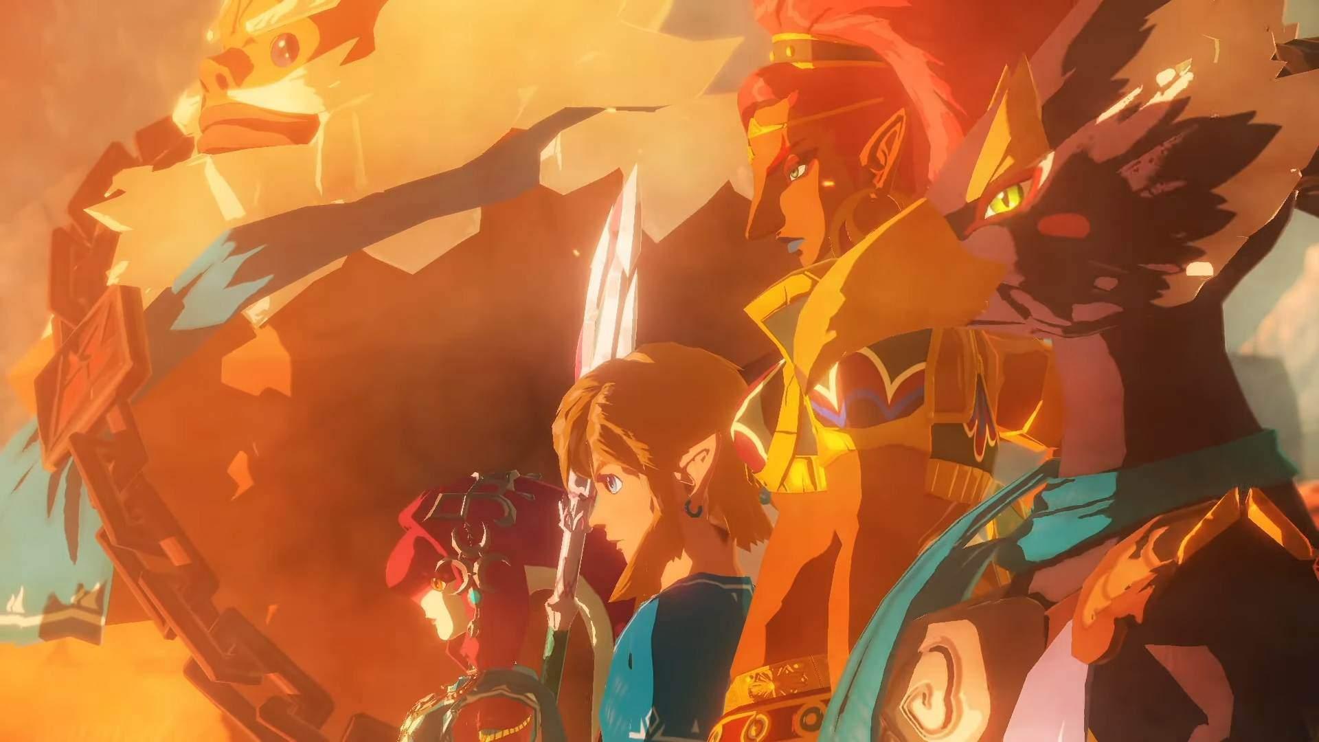 Hyrule Warriors: Age of Calamity najlepiej sprzedającym się mosu Koei Tecmo
