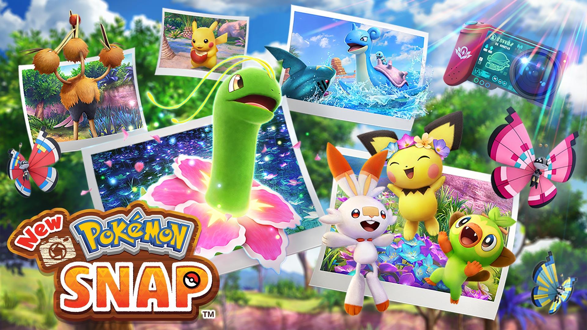 Przygotowania do 25. rocznicy serii Pokemon. New Pokemon Snap już w kwietniu