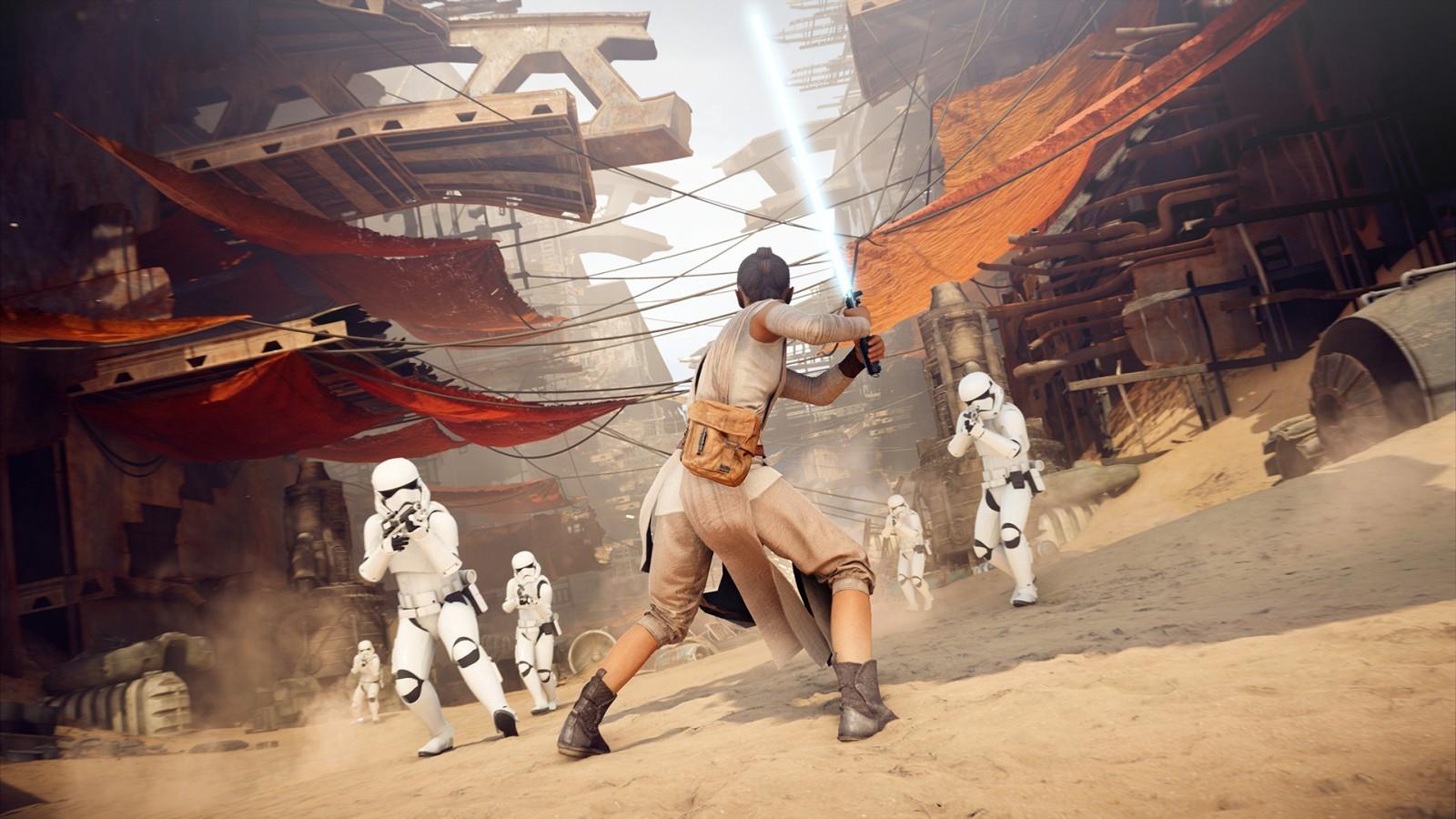 Battlefront 2 na Epic Games Store. Imponująca liczba pobrań gry