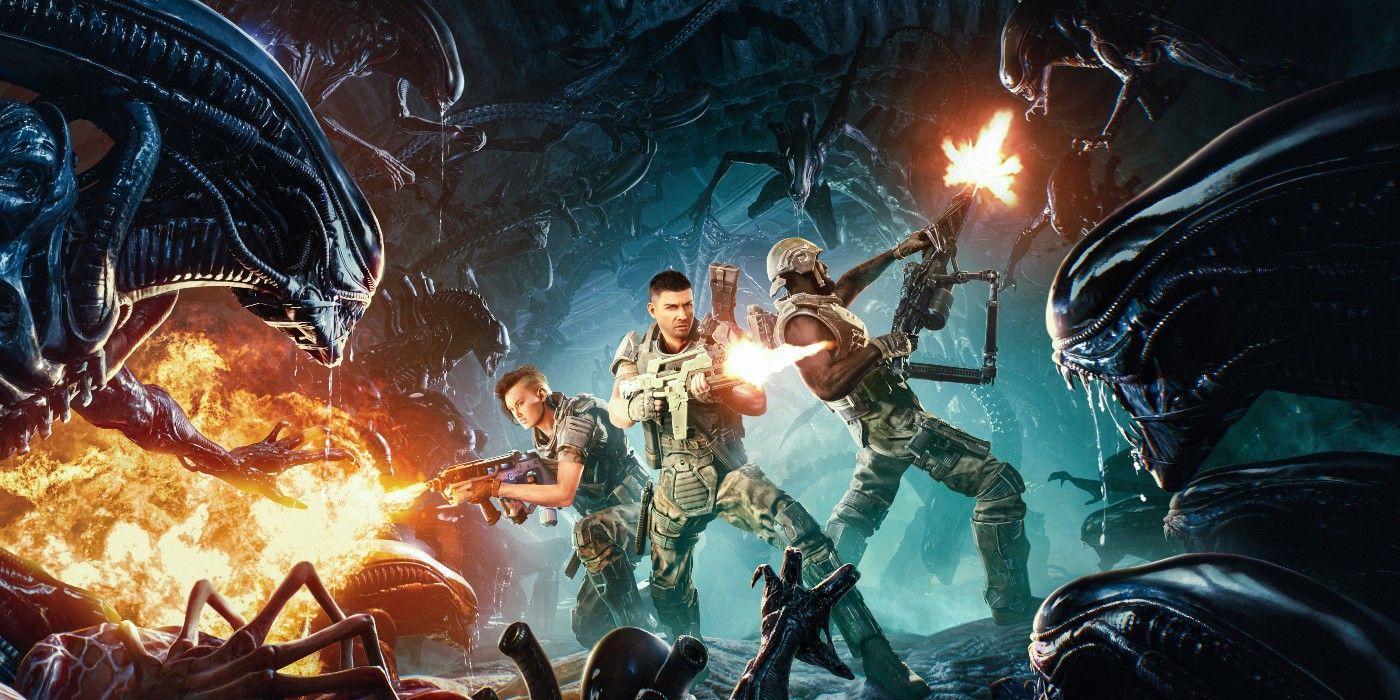 Aliens: Fireteam na nowym materiale z rozgrywki. Ciemno, ciasno i trochę nudno