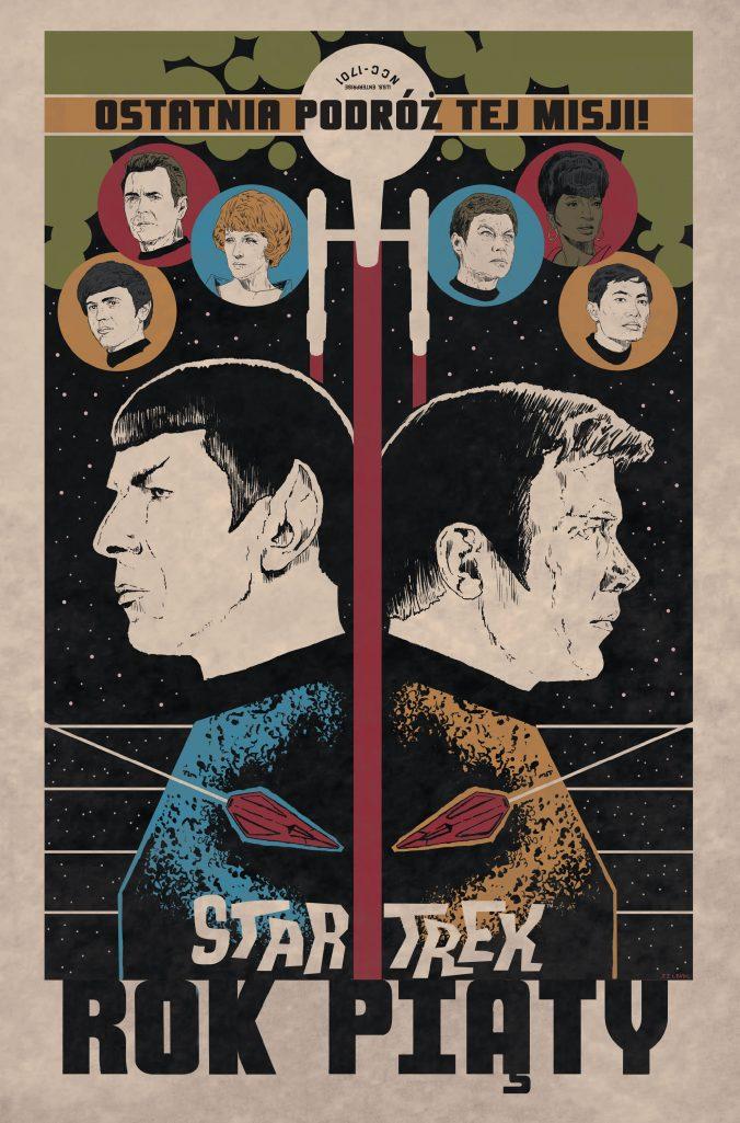 Star Trek – Rok piąty. Zobacz, jak wyglądał kres wspólnej podróży słynnej załogi Enterprise