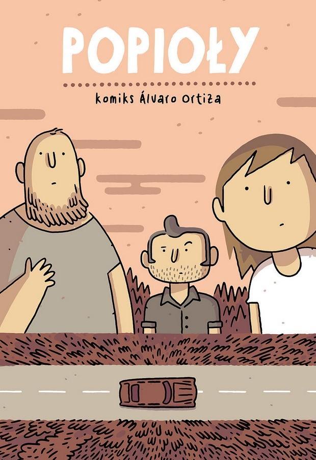 """Comic Relief #21 – część 3: Komiks """"Popioły"""" to historia typu """"tylko i aż""""."""