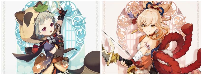 Dwie nowe postaci z Genshin Impact ujawnione