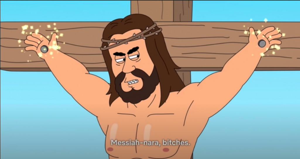 Netflix znów na celowniku. Poszło o Jezusa z giwerami