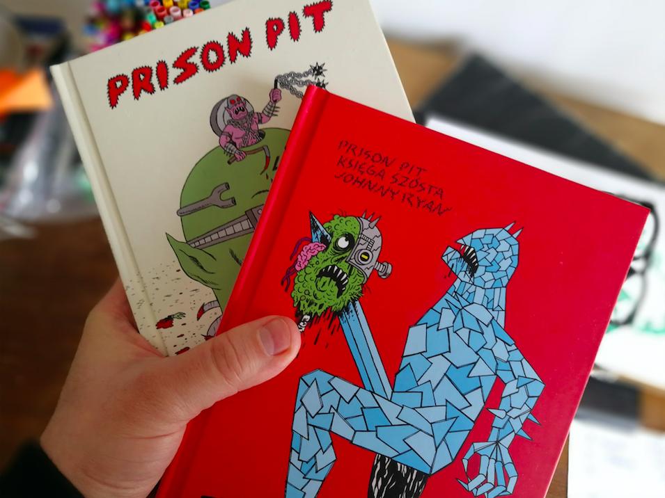 Prison Pit, czyli krwawa uczta dla fanów przekleństw i czarnego humoru – KRESKI #4